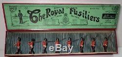 Britains Prewar Set #7 Royal Fusiliers with Box