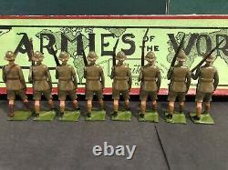 Britains RARE Boxed Set 1293 Durham Light Infantry. C1939