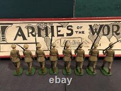Britains RARE Boxed Set 1837 Argentine Infantry- Ironside Series Box. C1941
