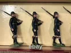 Britains RARE Boxed Set 1900 Regiment Louw Wepener. Post War, c1948
