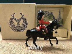 Britains RARE Boxed Set 2168. Mounted Officer Of The Gordons. Post War c1950