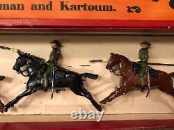Britains RARE Boxed Set 94 21st Lancers, Active Service Dress. Pre War c1937