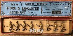Britains RARE Boxed Set 96 York and Lancaster Regiment. Pre War 1899