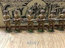 Britains RARE EARLY Boxed Set 104 City Imperial Volunteers. Pre War c1903