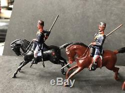 Britains RARE EARLY Set 71, Turkish Cavalry. First Version Circa 1897