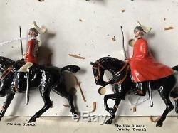 Britains RARE FAO Schwartz Historical Series Set 1875 British Army Types