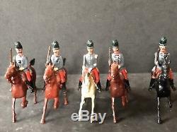 Britains RARE Set 139 Chasseurs A Cheval. Pre War