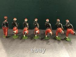 Britains RARE Set 142 Zouaves With Officer. 1st Version c1908
