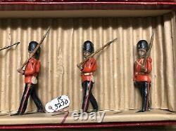 Britains RARE Set 1599 Royal Northumberland Fusiliers. Pre War c1938