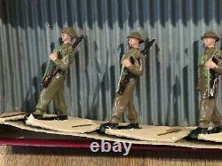 Britains RARE Set 1858 British Infantry. 1939-41 Only First Version