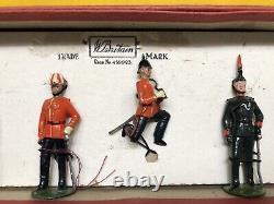 Britains RARE Set 1908 Infantry Officers, British Army. Pre War c1940