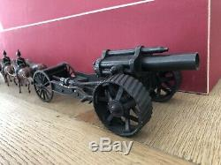Britains RARE Set 211 Horse Drawn Heavy Howitzer. Pre War