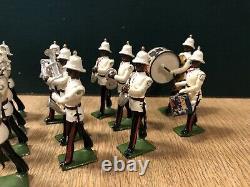 Britains RARE Set 2186 Bahamas Police Band. Post War, 1960. 54mm
