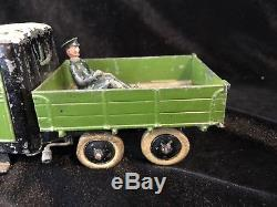 Britains RARE Set 59F Farm 4 Wheel Tipping Lorry. 1st Version Pre War