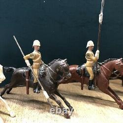 Britains RARE Set 94 21st Lancers, 1901 Version. Pre War c1910