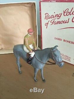 Britains Racing Colours Of Famous Owners Lord Rosebery Boxed