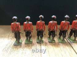 Britains Rare 2nd Version Set 67 Madras Infantry. Pre War c1914