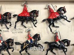 Britains Rare Boxed Display Set 430 Life Guards. Pre War c1930