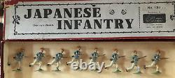 Britains Rare Boxed Set 134 Japanese Infantry. Pre War c1920
