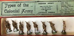 Britains Rare Boxed Set 1621 Frontier Force Regiment. Pre War