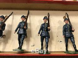 Britains Rare Boxed Set 1856 Polish Infantry. Pre War, 1939-41