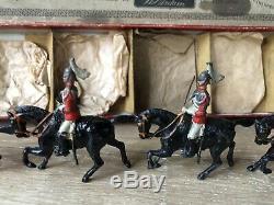Britains Rare Boxed Set 1 The Life Guards. Early Version Circa 1898