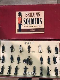 Britains Rare Boxed Set 2011 Royal Air Force Display. 54mm Metal Figures