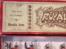 Britains Rare Boxed Set 97 Royal Marine Light Infantry, 1900