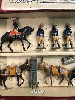 Britains Rare EARLY Boxed Set 28 Mountain Artillery. 1st Version c1900