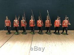 Britains Rare Early Set 76 Middlesex Regiment. Early Pre War, c1898