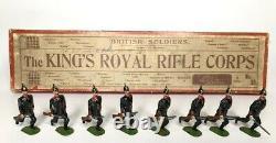 Britains Rare Pre-War Set #98 King's Royal Rifle Corps AA-10651