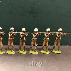 Britains Rare Set 119 Gloucestershire Regiment. 1st Version. Pre War c1901