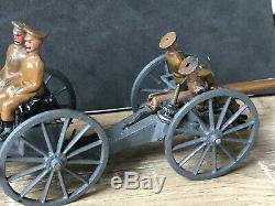 Britains Rare Set 144A Horse Artillery Active Service. Early Version. Pre War
