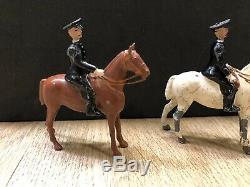 Britains Rare Set 1511 British Mounted Policemen. Pre War