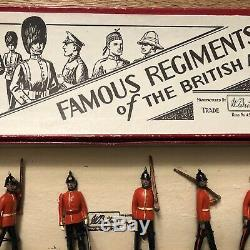 Britains Rare Set 1594 The Sherwood Foresters. Famous Regts. Pre War c1937