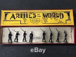 Britains Rare Set 1835, Argentine Naval Cadets. Pre War