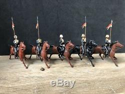 Britains Rare Set 81 17th Lancers. Early Pre War