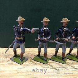 Britains Rare Set 91 US Infantry. Pre War c1920