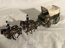 Britains Royal Army 145 Medical Service Wagon Ambulance Pre War Rare circa 1906