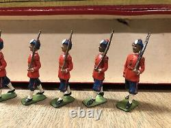 Britains Scarce Boxed Set 67 Madras Native Infantry. Pre War, c1920s