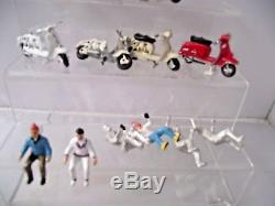 Britains Scooters And Other Makers Re Casts Figures Parts Collection Motorcycle