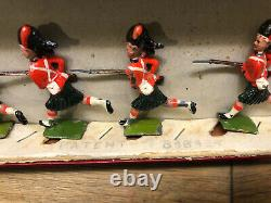 Britains Set 11 The Black Watch. Pre War c1910