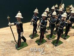 Britains Set 1288 Full Band Of The Royal Marines. Second Version, c1938