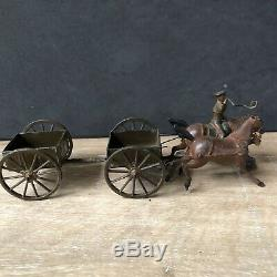 Britains Set 1331 Royal Engineers Limber Wagon, Active Service Order. Rare