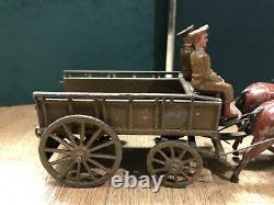 Britains Set 146a RASC Wagon, Active Service Order. Pre War c1925