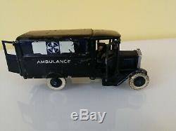 Britains Set 1513 Volunteer Corps Ambulance 1937 Lead Figures vintage toy