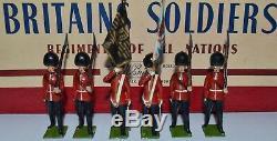 Britains Set #2084 Colour Party Scots Guards CX-1010