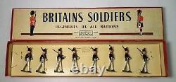 Britains Set #221 Uruguayan Military School Cadets Alummos dela Escuela Mwith Box
