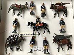 Britains Set 28 Mountain Artillery. Pre War