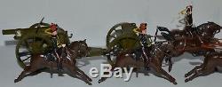 Britains Set #39 Kings Troop Royal Horse Artillery at the Gallop AA-9638